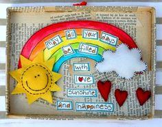 Rainbow, and a cute Wish