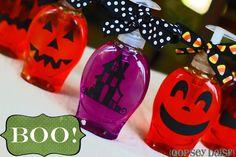 DIY Halloween : DIY  Halloween Soap Dispensers
