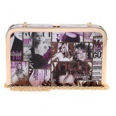 Square Vogue Clutch Bag