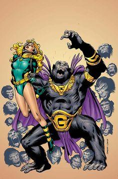 1000 images about atomic skull and gorilla grodd on - Marvellegends net dcuc ...