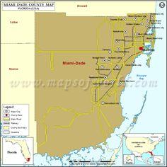 Miami County Map