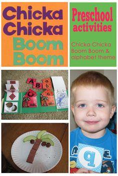 Chicka Chicka Boom Boom/Alphabet Preschool Theme - Mommys Little Helper