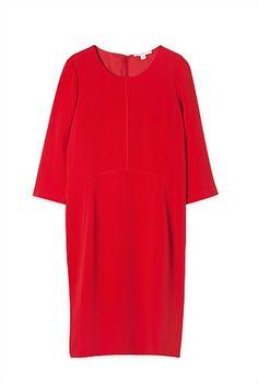 Trenery Crepe Shift Dress