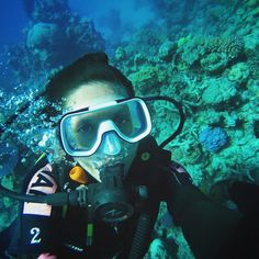 Put the ol' #GoPro to use for a scuba-selfie about 20m deep in the outer #GreatBarrierReef  Did not want this day to end   #BeautifulOz #Australia by missmonet http://ift.tt/1UokkV2