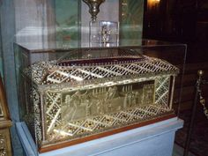 Relics of St. Philothea in Athens, Greece Athens Greece, Decorative Boxes, Furniture, Home Decor, Texts, Decoration Home, Room Decor, Home Furnishings, Home Interior Design