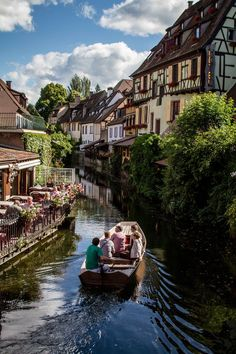 The pretty village of Colmar ~ in the region of Alsace, France