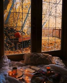 Good morning 🌞☕️ Happy Weekend everyone! Autumn Witch, Autumn Cozy, Autumn Fall, Autumn Leaves, Room Wall Decor, Bedroom Decor, Teen Bedroom, Bedroom Storage, Modern Bedroom