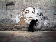 Deconstructed Wall Art by Alexandre Farto, aka VHILS. Video at the site shows how it's done. Amazing stuff.