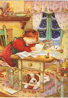 【楽天市場】リシ マーチンのクリスマスポストカード★お便り:ねこの引出し