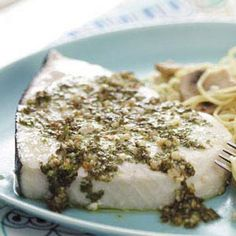 Made this using flounder instead of swordfish since Wegman's was out of swordfish. Still really good!