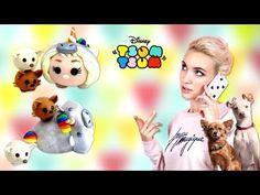 TUTO FIMO | Natoo version Licorne avec Kitty et Lola en Tsum Tsum ! - YouTube