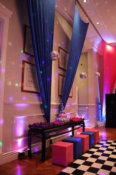 Quiz Eventos - Festa - Festa New York-Rosa Azul e Preto