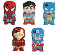 Avengers super hero phone cases, i want the iron man one :O you know.... if i ever get a smart phone
