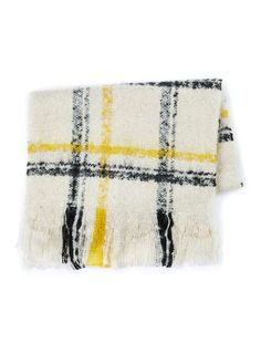 Cream Check Boucle Textured Scarf - Men s Scarves - Shoes   Accessories.  Kosina Dávid · Fashion 00f6e9d071