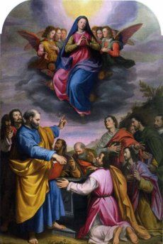 Santi di Tito (1536-1603) - Assunzione della Vergine  - 1587 - Scarperia, Chiesa di Santa Maria a Fagna