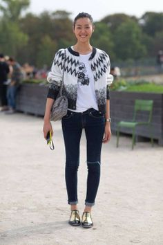 Street style/oxfords