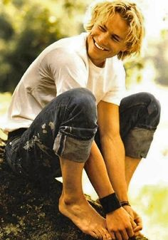 heath ledger. (: