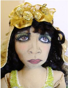 Boudoir Doll Like Silent Movie VampTheda Bara by HouseofLeBarre, $250.00