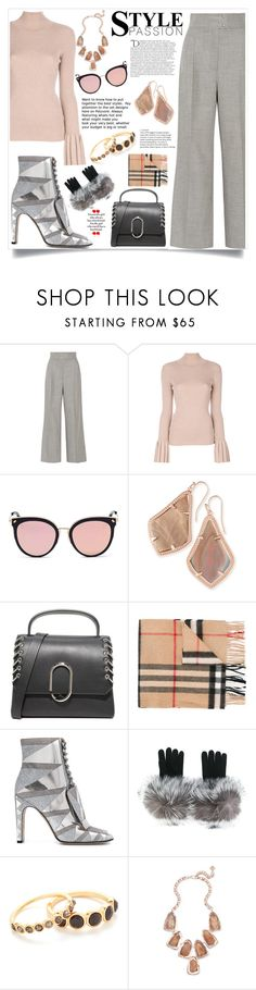 """""""Fashion for passion"""" by monica022 ❤ liked on Polyvore featuring Barbara Casasola, Carven, Stephane + Christian, Kendra Scott, 3.1 Phillip Lim, Burberry, Sergio Rossi, N.Peal, Gorjana and Balmain"""