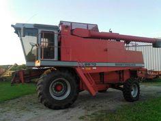 1994 Massey Ferguson 8570 w/Grain Head for sale by owner on Heavy Equipment Registry  http://www.heavyequipmentregistry.com/heavy-equipment/15697.htm