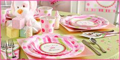 Little Princess Baby Shower Party supplies and decorations