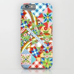 Design Confections Pattern on Pattern II by #PatriciaSheaDesigns iPhone & iPod Cases