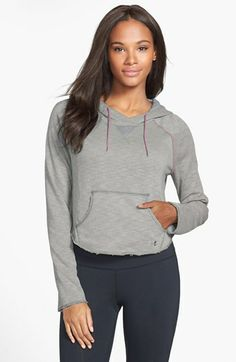 Under Armour 'Rollick' Crop Hoodie available at #Nordstrom