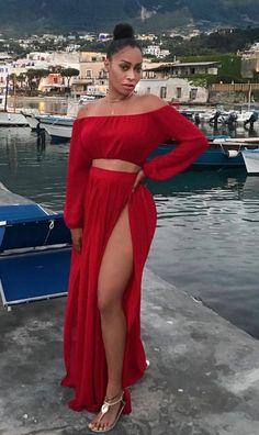 My Top Street Fashion Styles Dope Outfits, Simple Outfits, Classy Outfits, Summer Outfits, Look Fashion, Runway Fashion, Womens Fashion, Beautiful Black Women, African Fashion
