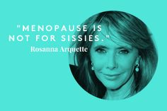 50 is the new 30. Love this quote from @Refinery29 story with @rosannaarquette