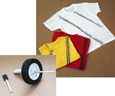 CARS 2 | FAMILY PRESS KIT - love the tire track t-shirts!
