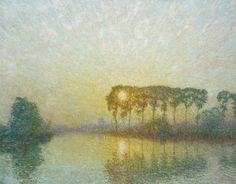 by Emile Claus 1849 – 1924 Belgium