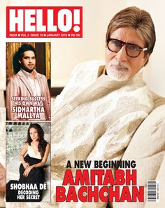 Jan 2010 Amitabh Bachchan, Incredible India, New Beginnings, Super Powers, Success, The Incredibles, Cover, Random, Fashion