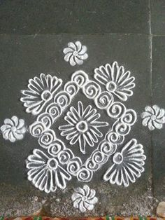 Very small rangoli