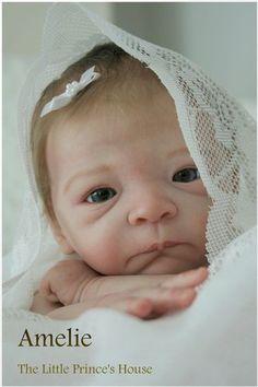 Milaine KIT BY Evelina Wosnjuk Reborn Doll Baby Newborn Infant Girl