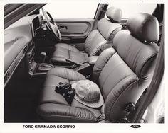 Ford Granada Scorpio interior (UK, 1985)