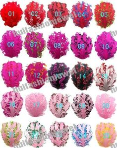 Lots 25color pick 6 Curly Goose nagorie feather pad appliques trims for headband #Unbranded