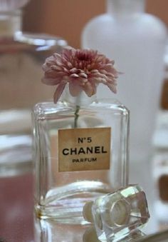 What to do with your empty Chanel bottles :)