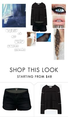 """""""I'm on bed rest....-Genesis"""" by taylor-styles16 ❤ liked on Polyvore featuring Zara"""