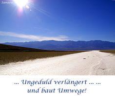 ... #Ungeduld verlängert ... ... und baut Umwege!