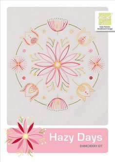 Hazy Days embroidery kit
