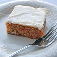 Zucchini Carrot Cake with Cream Cheese Frosting Recipe