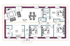 Les 25 meilleures id es de la cat gorie plan maison 100m2 sur pinterest maison 100m2 100 m2 - Mca maisons de la cote atlantique ...