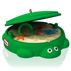 Classic Turtle Sandbox® - Christmas Ornaments - Hallmark All the kids had one of these!