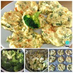 Tortitas de patata y brócoli #RecetasGratis #RecetasFáciles #RecetasRápidas