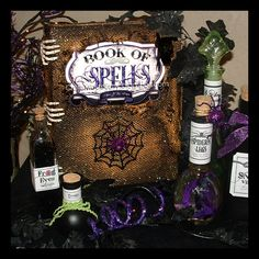 Cool DIY book of spells by Crafts Made Easy