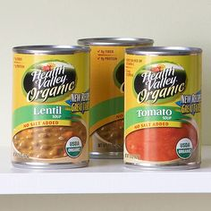 Low-Sodium Pick: Canned Soup