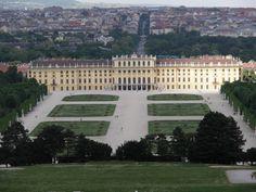 The Summer Palace Gardens in Vienna