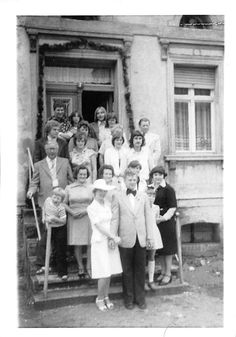 Photograph Snapshot Vintage Black and White Family Dress Fancy Steps 1960'S | eBay