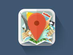 Travel Icon by Egor Kosten
