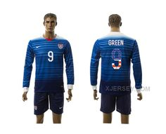 http://www.xjersey.com/201516-usa-9-green-independence-day-away-long-sleeve-jersey.html 2015-16 USA 9 GREEN INDEPENDENCE DAY AWAY LONG SLEEVE JERSEY Only $35.00 , Free Shipping!